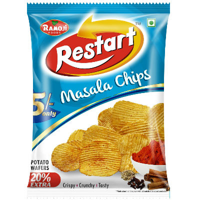 Ramoji Restart Masala Chips Rs.5 Pouch
